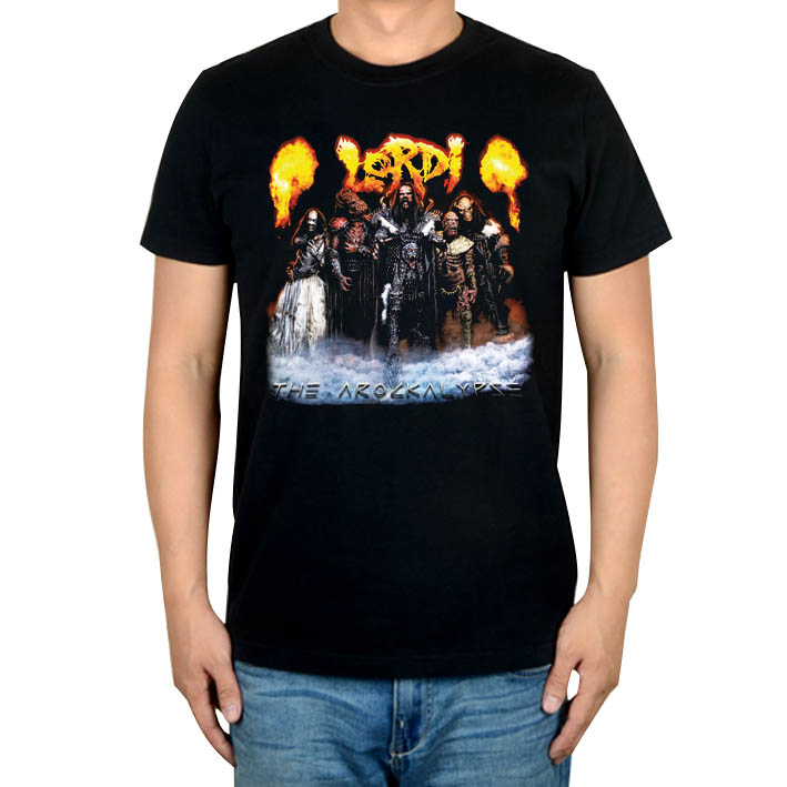 2 вида Летний стиль Lordi Finland рок группа для мужчин и женщин рубашка панк смерти тяжелый черный металл ММА фитнес скейтборд 3D маска с принтом
