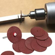 DIY Лучший инструмент 36 шт. каучук режущий диск Набор бит для Dremel роторный инструмент