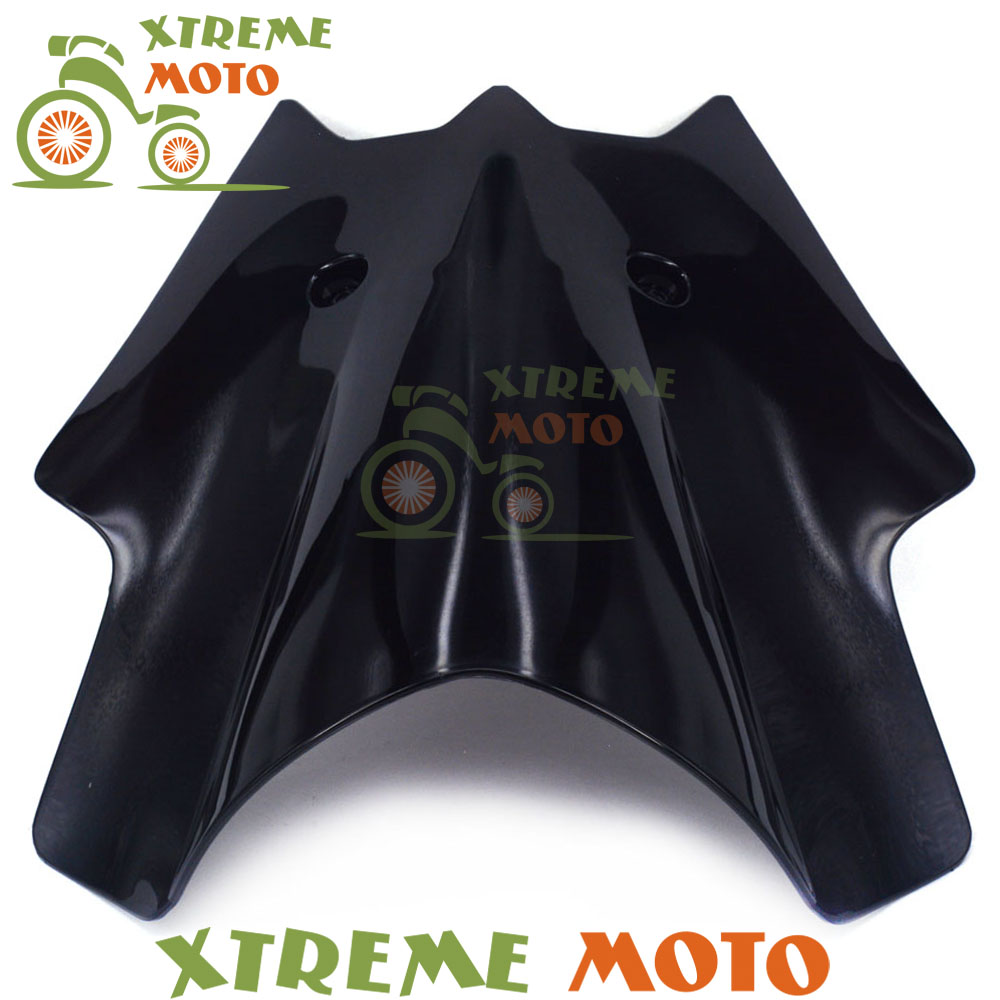 Black Plastic Motorcycle Windscreen Windshield For KTM Duke 690 2012 2013 2014 2015 Motocross Motorbike Dirt Bike yomt motorcycle motorbike windshield smoke race screen for yamaha tmax530 2012 2014 2013 12 13 14 windscreen