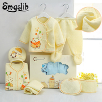 Smgslib 7pcs Baby Girl Clothes Winter Newborn Toddler Unisex Fall Spring Cotton 0 3 Months Baby