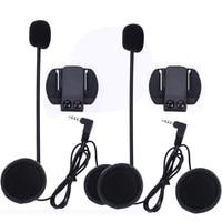 2 Set Headset Clips Set Motorcycle Accessories For V6 V4 Bluetooth Helmet Intercom Stereo Headphone Free