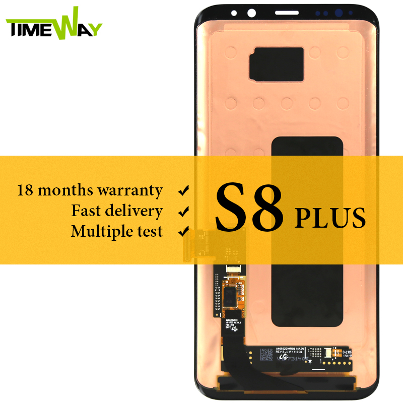 For Samsung S8 Plus LCD Dispaly Super AMOLED Touch Screen Assembly with frame For Samsung S8 Plus G955 display Screen 6.2 InchFor Samsung S8 Plus LCD Dispaly Super AMOLED Touch Screen Assembly with frame For Samsung S8 Plus G955 display Screen 6.2 Inch