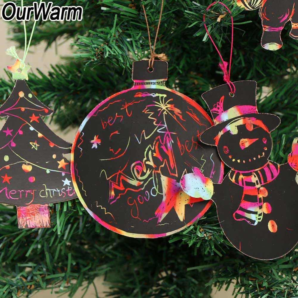 Detail Feedback Questions About Ourwarm 24pcs Diy Christmas