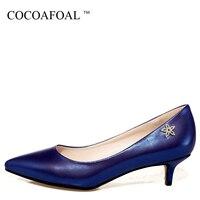 COCOAFOAL Vrouw Wit Kristal Schoenen Blauw Roze Sexy Stiletto Sexy Rode Trouwschoenen Plus Size 32-43 Zwart Hoge Hakken Pumps 2018