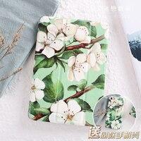 Elegant Green Camellia Flip Cover For IPad Pro 9 7 Air Air2 Mini 1 2 3