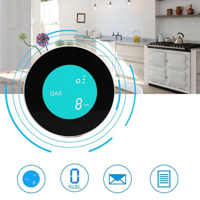 Smart Wireless WIFI Gas Detector Alarm 3
