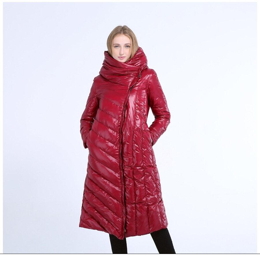 fd6f87c8508 019 Fashion Women S Down Jacket Winter Hooded Warm Long Coats Light ...