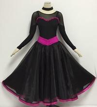 Women Dance Ballroom Waltz Tango Dress Simple Style Ballroom Competition Dancing Dresses Lady s Standard Costume