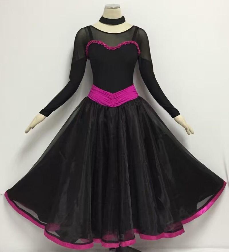 Women font b Dance b font Ballroom Waltz font b Tango b font Dress Simple Style