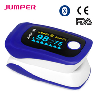 JUMPER Wireless Bluetooth Finger Pulse Oximeter Blood Oxygen Saturation Oximetro de dedo Monitor for IOS Android JPD 500F