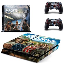 Far Cry 5 Farcry 5 PS4 Skin Sticker Decal Vinyl for Sony Playstation 4 Console and 2 Controllers PS4 Skin Sticker