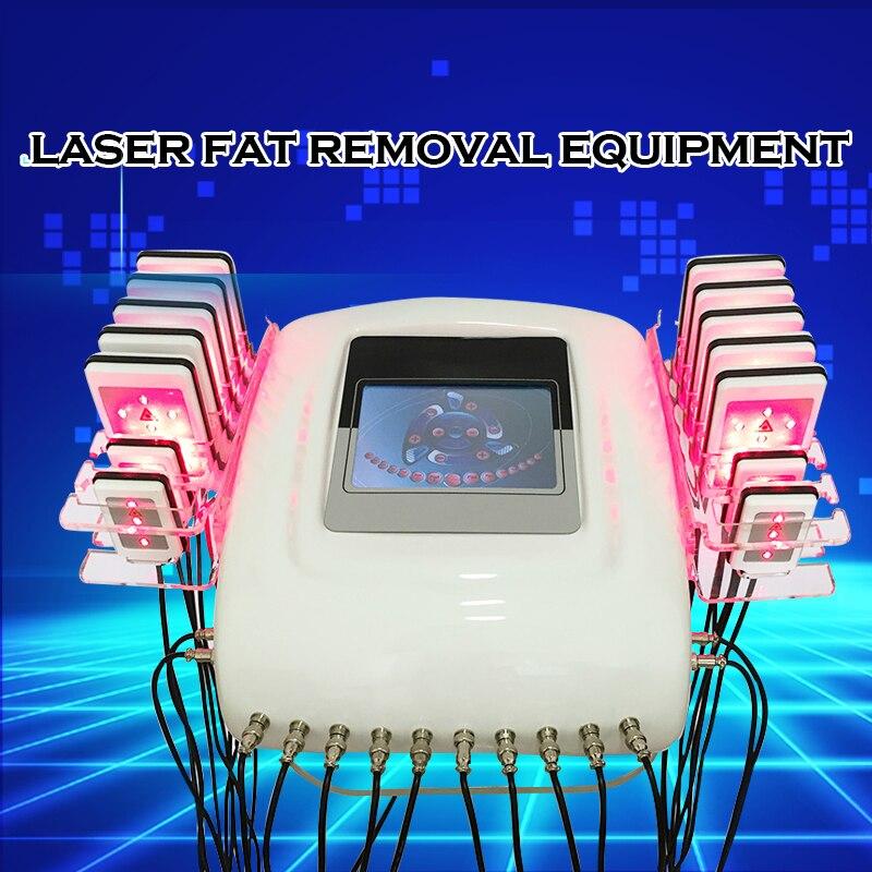 Diode laser pour lipoaspiration LipoLaser équipement natation Rapide Combustion Des Graisses Remover Corps façonner zerona laser machine pour maigrir
