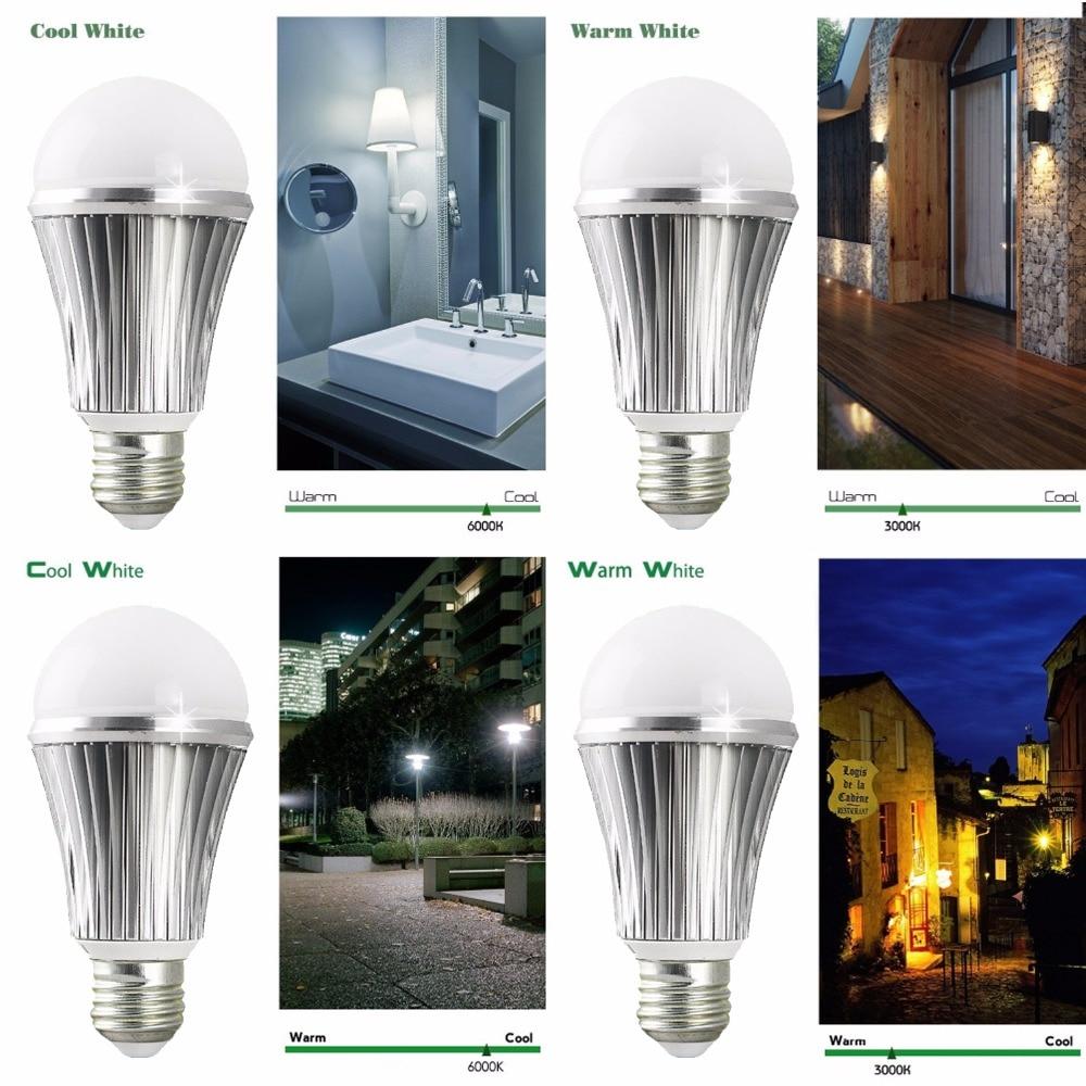 Lâmpadas Led e Tubos iluminação sem som ativação necessária Product Name : Daylight Sensor Led Light Bulb