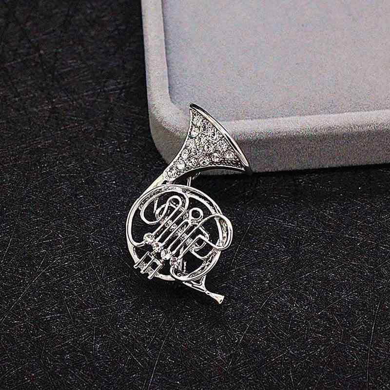 6b23be078d9 ... Fashion Accessories Silver-color Jewelry Top Grade Multi Musical  Instruments Pins And Brooches For Women ...