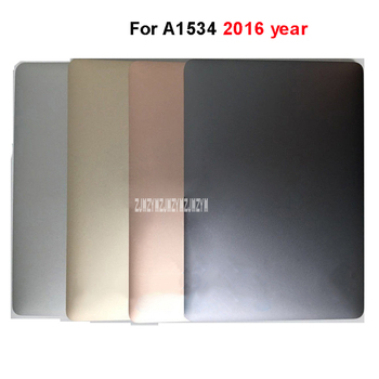 100% Original New Laptop Full LCD LED Screen Assembly For 12 inch A1534 2016 Year NotBook LCD Screen Silver/Gray/Gold/Pink