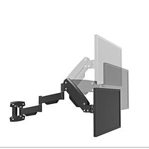 "Image 4 - BL LG312B Ultra long Gas Spring Arm Wall Mount Monitor Holder Full Motion Heavy Duty 17 27"" LCD TV Mount Bracket Loading 2 9kgs"