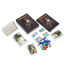 Party Games Extension Funny Saboteur Full-English-Base Family Jeu 1--2-Board Dwarf-Miner