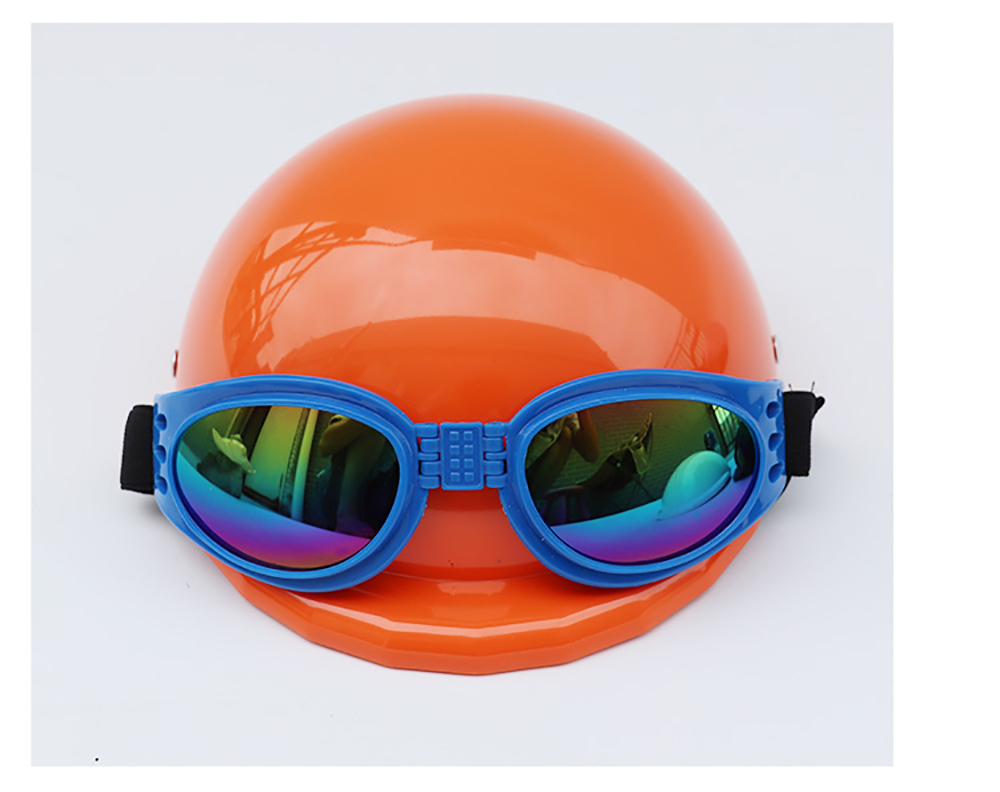 Dog Helmet and Goggles Kit