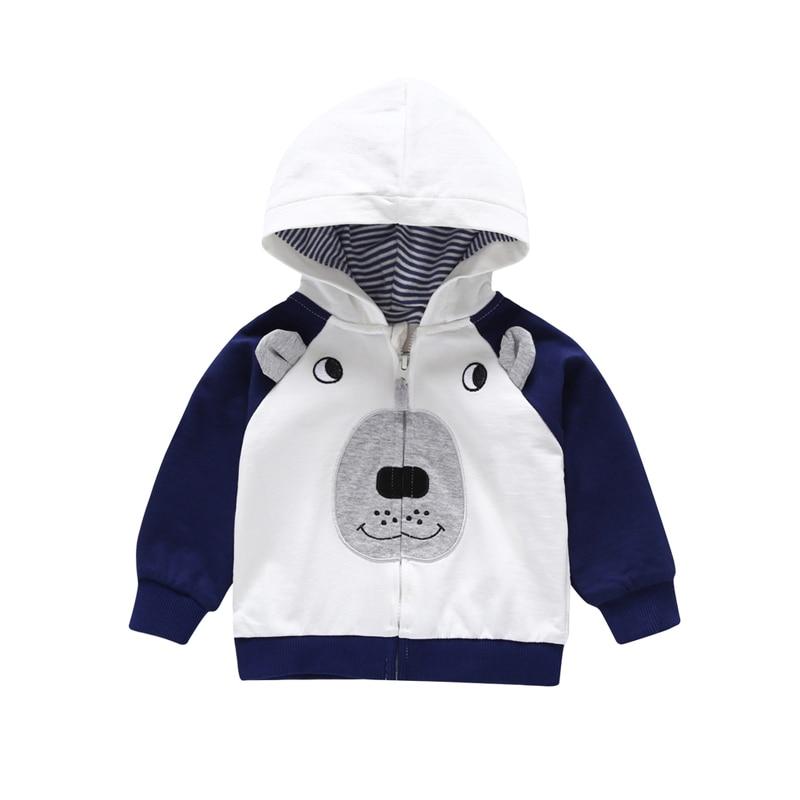 ZOEREA Boy Outerwear Jacket Windproof Wood Button Hooded Coat