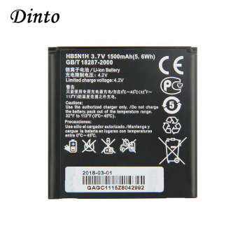 Dinto 3.7V 1500mAh HB5N1H Replacement Mobile Phone Battery for Huawei Ascend G300 Y220T Y310S G302D G305T G309T Y310 G330C