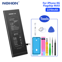 Get more info on the NOHON 3.82V 2210mAh Cellphone Replacement Battery Lithium Li Ion Battery Rechargeable For Apple IPhone 8 8G IPhone8 Mobile Phone