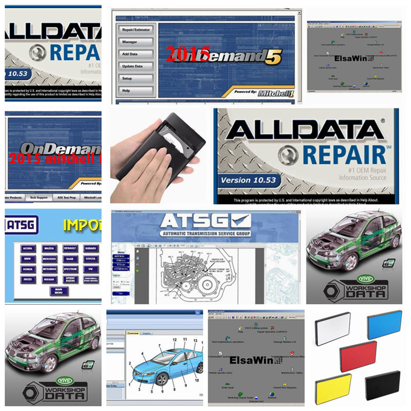 Car Repair Tools Enthusiastic 2019 Alldata 10.53 Alldata Software Mitchell On Demand Auto Repair Software Elsawin Vivid Workshop Data Atsg 23in1tb Hdd Usb3.0 Beneficial To Essential Medulla Back To Search Resultsautomobiles & Motorcycles