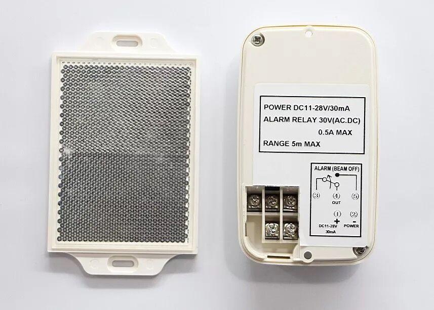 Détecteur rétroréfléchissant de capteur de faisceau infrarouge de puissance d'un côté pour le système de sécurité d'alarme à la maison - 2