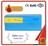 Solar photovoltaic inverter 3000w pure sine wave inverter 48V turn 220V household power converter 24V 220V 60HZ 3000W