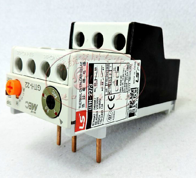 Thermal relay thermal overload relay GTH-22/3 7-10A 7 10a adjustable thermal relay  overload