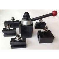 Schaukel dia 254-381mm keil typ drehmaschine werkzeug post set von 6 stücke schnell ändern werkzeug post (UNS typ)
