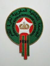 86c77e50a 2pcs Football soccer fussball National Team Morocco logo iron on Patch  Aufnaeher Applique Buegelbild Embroidered new