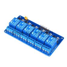 1PCS 6 Channel 24V Relay Module For Arduino PIC ARM DSP AVR Free shipping