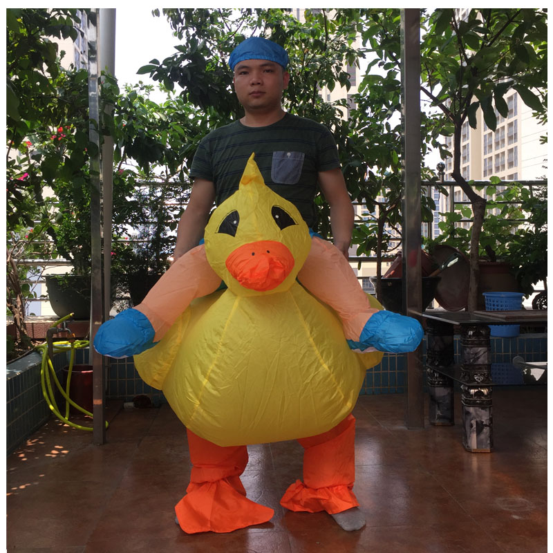 inflatable duck costume (1)