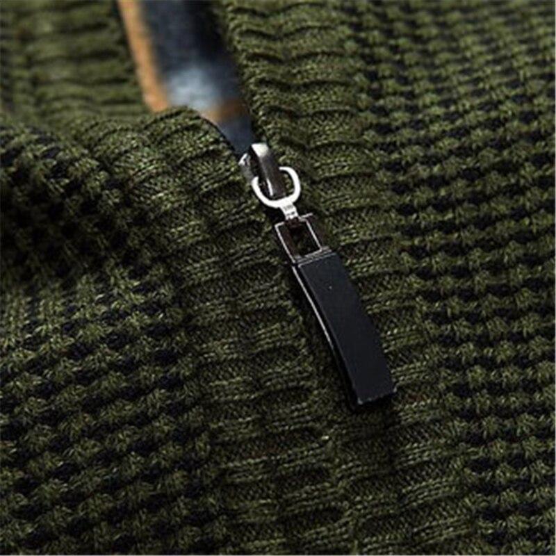 US $28.73 7% di SCONTO|2019 Moda Uomo Maglione Casual Degli Uomini cardigan maglione di cachemire di spessore All'aperto tuta sportiva di inverno di