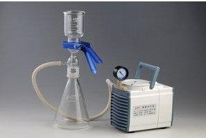 GM 0.33A мембранный вакуумный 1000 мл растворитель фильтр фильтрации безмасляный насос для химического анализа фармацевтическая использовать