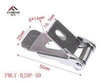 Manufacturer supplied Hot sale downlighting metal spring clip,flat clips