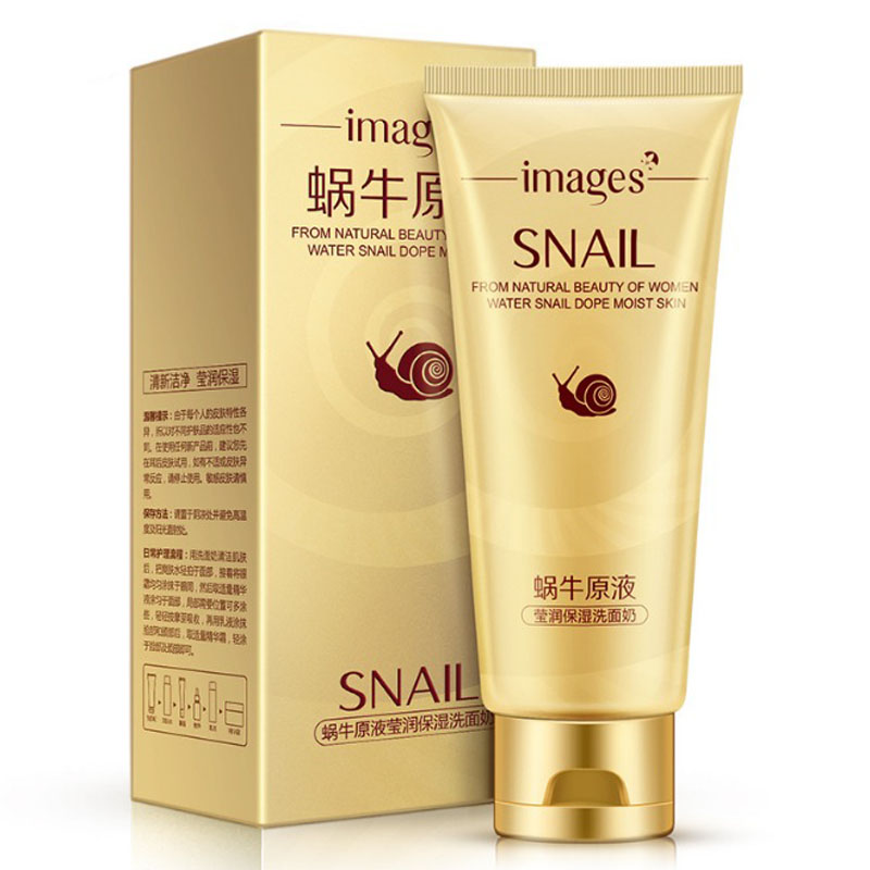 New Snail Facial Cleanser Stick Mask Blackheads Face