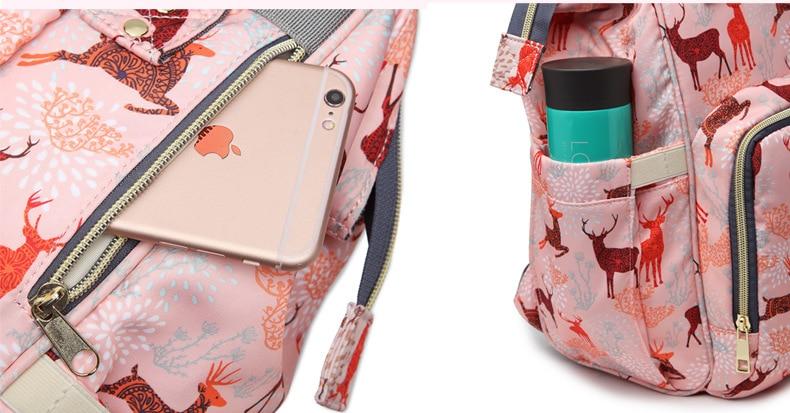 HTB1pZdKafvsK1RjSspdq6AZepXam Diaper bag backpack Travel Leopard Men Mummy Baby Care nappies stroller Bag Large Capacity Waterproof Business baby bag for mom