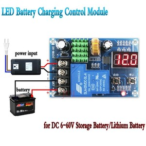 Image 2 - 6 60V LED Battery Lithium Battery Charging Control Module For Household Chargers/ Solar Energy /Wind Turbines