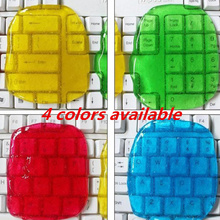 lizun keyboard Super Glue Magic Gel Clay Toy Clean Dust Cleaning Slime Play dough Barrel For Keyboard Laptop