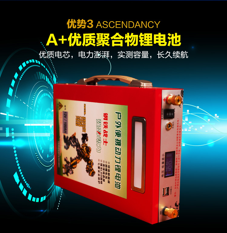 big-capacity/high power 12V /5V USB 100AH,80AH,60AH USB Li-ion lithium polymer Battery For boat motors/solar panel Power bank аккумулятор для фонарика gaotan12v lithium ion battery 12v100ah 12v 100ah