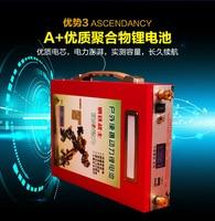 big capacity/high power 12V /5V USB 100AH,80AH,60AH USB Li ion lithium polymer Battery For boat motors/solar panel Power bank