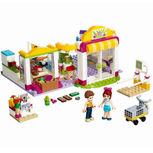 Compatible with Friends Heartlake Supermarket 41118 Model Building Block Emma Mia Figure Educational Toy For Children BELA 10494