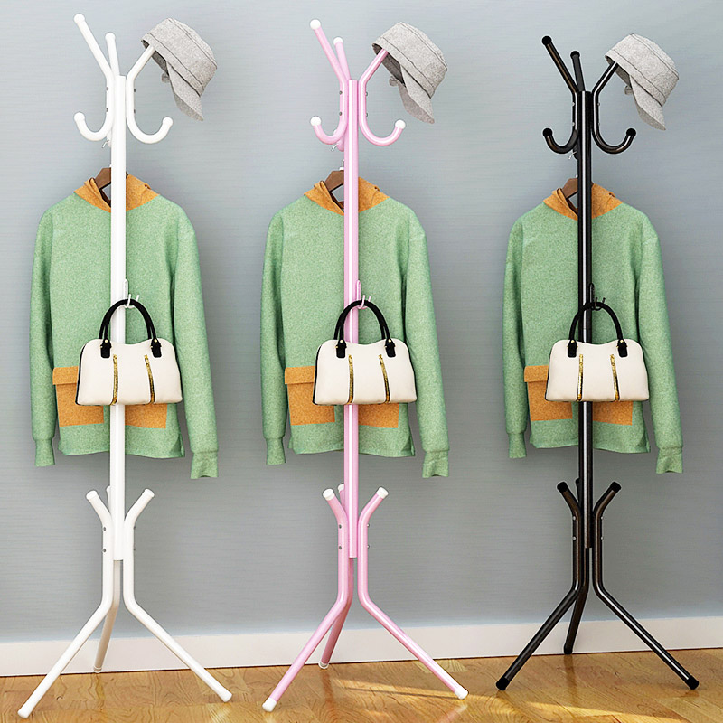 Modern minimalist fashion home art portable hanger racks multi-functional creative stainless steel vertical furniture coat racks lanskaya creative modern minimalist fashion mobile landing tree coat hook home furniture clothes hanger
