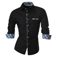 2016 Spring Autumn Features Shirts Men Casual Jeans Shirt New Arrival Long Sleeve Slim Fit Male Z020