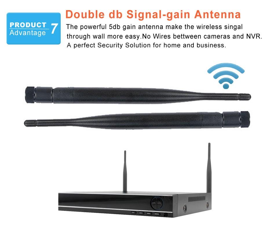 Double db Signal-gain Antenna