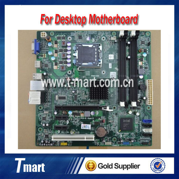 ФОТО 100% working Desktop motherboard for DELL 560/560S G43T-DM1 G43 18D1Y System Board fully tested