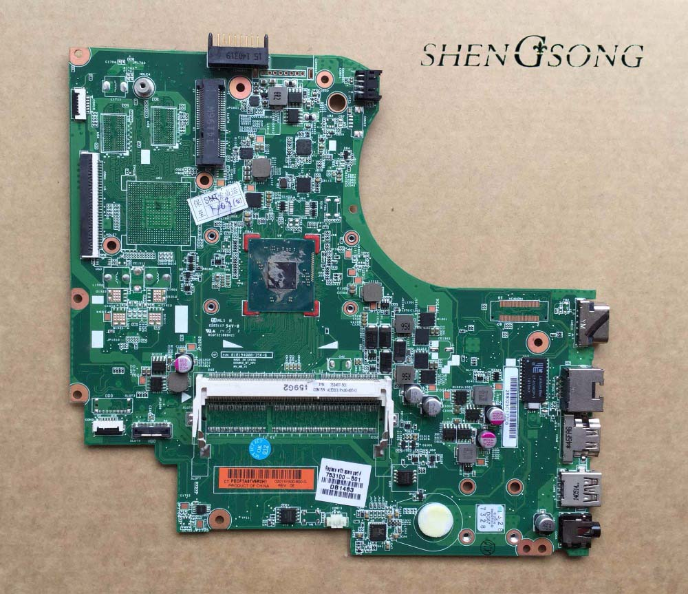 Free Shipping Original 753100-501 Laptop Motherboard for HP 15-D 250 G2 Notebook Mainboard 753100-001 N2820