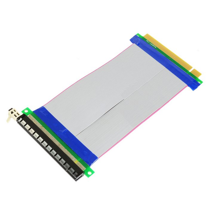 Computer & Office Fine Pci-e Express Riser Card Pci 1x To 16x Extender Riser Card 6pin Cable With Led Light For Bitcoin Miner Btc Graphics Card Modern And Elegant In Fashion