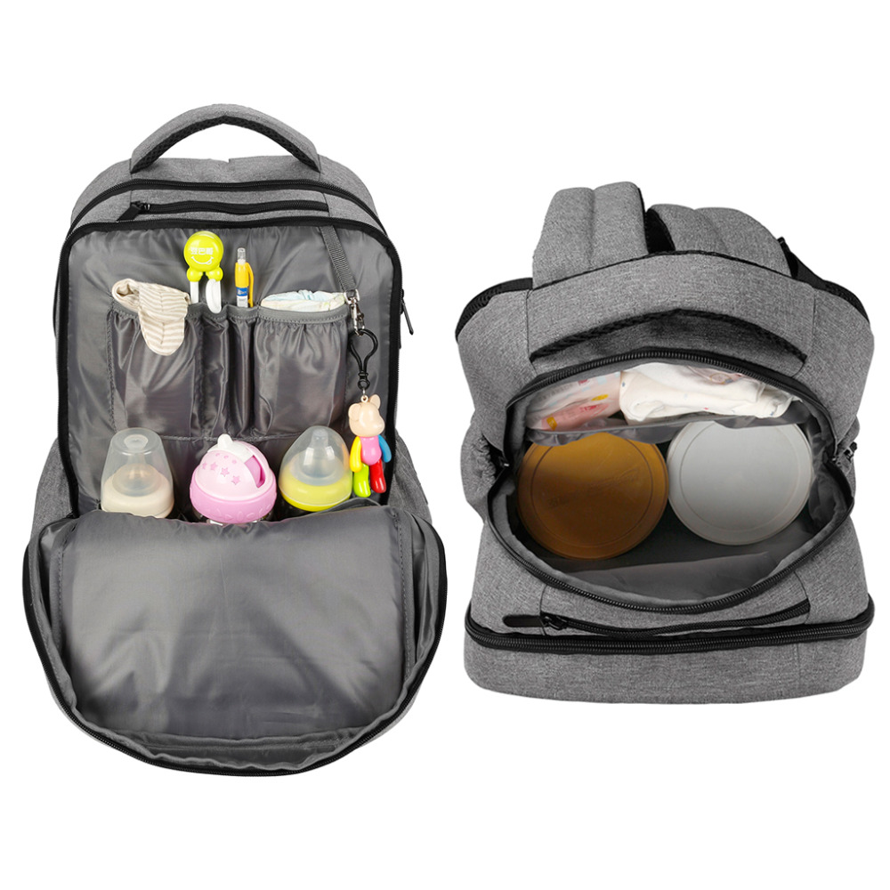 Image 3 - New mummy maternity nappy bag changing nurse travel baby diaper bags backpack for mother mom moms pregnant stroller waterproof-in Diaper Bags from Mother & Kids